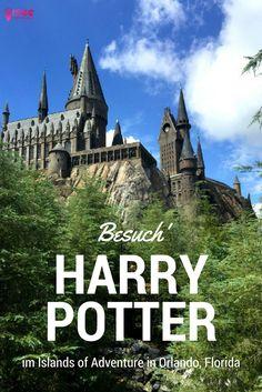 Wer will nicht einmal in die Welt von Harry Potter eintauchen? Ich zeige dir, wie auch du mit dem Hogwarts Express fahren, durch die Winkelgasse schlendern und ein Butterbier in Hogsmeade trinken kannst. #harrypotter Ganz einfach: Dies kannst du im Islands of Adventure und in den Universal Studios in Orlando in Florida. Bei deinem nächsten Besuch im Sunshine State ist der Besuch im Islands of Adventure definitiv Pflicht #harry