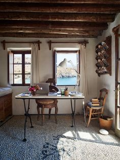 Greek vacation home of Jasper Conran Tataice.com
