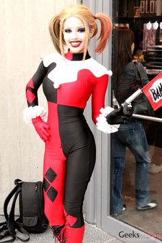 Harley Quinn – New York Comic Con 2014 Cosplayer - Kitty Young