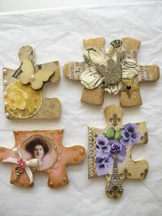 Altered Puzzle Pieces for Dee in South Africa