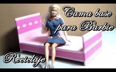 Como hacer: Cama base para Barbie / Abby manualidades - http://cryptblizz.com/como-se-hace/como-hacer-cama-base-para-barbie-abby-manualidades/