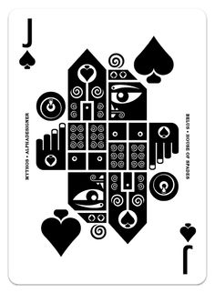 Mythos is a project reinventing the modern playing card with more than 100 designs, organized in an Anglo-French (Poker) and Latin (Spanish baraja) decks.