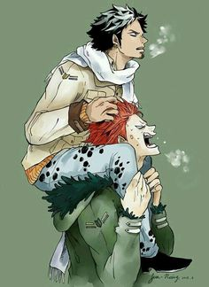 One Piece - Eustass Kid x Trafalgar Law - KidLaw One Piece Manga, Watch One Piece, One Piece Ship, One Piece 1, One Piece Images, One Piece Pictures, One Piece Fanart, Single Piece, Zoro