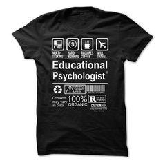 Best Seller - EDUCATIONAL PSYCHOLOGIST T Shirts, Hoodies Sweatshirts. Check…