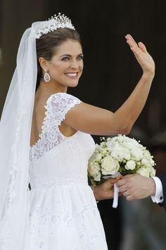 Magdalena de Suecia.... hermoso vestido