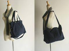 SALE SALE SALE  Mia in Navy blue // shoulder bag von christystudio, $37.80