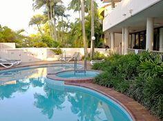 Outdoor Pool and Spa