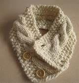 ... garter stitch forward neck