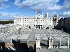 Palacio Real de Madrid desde el mirador de la Catedral de la Almudena