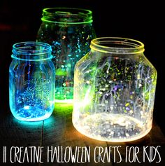 #Halloween Crafts for Kids-Might have to try these myself!