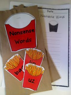 Nonsense Word Sort