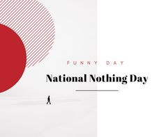 National Nothing Day is quite simply. a day for nothing. Celebrate this day by doing. Of course, that assumes that doing nothing is okay with your boss. Your Boss, Its Okay, Facebook Sign Up, Day, Funny, Its Ok, Wtf Funny, Hilarious, Humor