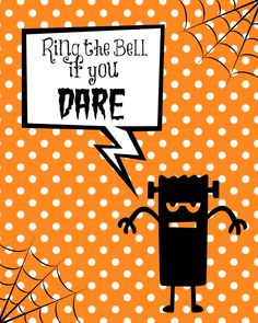 Free Halloween Printables by the Child at Heart blog