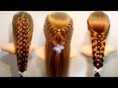 ❤ Hairstyles For Long Hair ♛ Hairstyles Tutorials Compilation March 2017 - YouTube