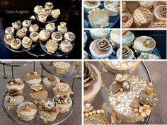 New Year Engagement Cupcakes