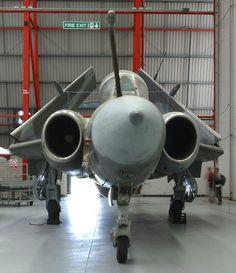RAF Buccaneer Frontal View