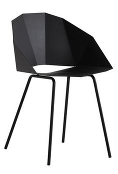 Buk Armchair - Metal Black by Woud - Design furniture and decoration with Made in Design