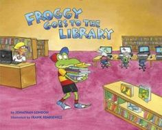 When Froggy, Mom, and Pollywogilina set out for the library, Froggy brings a wheelbarrow to hold all the books he plans to borrow but he is so excited that he forgets to use his indoor voice.