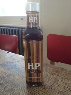 Paul Smith HP Sauce Coffee Bottle, Whiskey Bottle, Hp Sauce, Beverages, Drinks, Lunch Snacks, Nottingham, Cold Brew, Paul Smith
