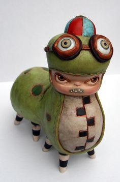 Kathie Olivas, Benny Caterpillar