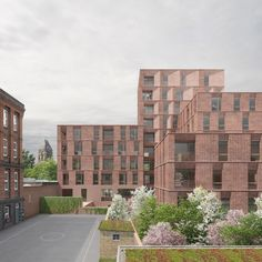 Duggan Morris Architects has won the go-ahead for another major scheme backed by elderly housing provider PegasusLife - this time in north London Brick Architecture, Chinese Architecture, Architecture Details, Duggan Morris, Brick Projects, Steel Structure Buildings, Study Room Design, Roof Detail, Brick Building