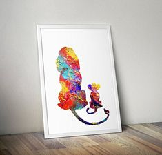 Beautiful designs made with love by VividPixelPrints on Etsy Movie Prints, Poster Prints, Framed Prints, Art Prints, Graffiti Art, Poster Baby, Winnie The Pooh, Tv Movie, Watercolor Walls