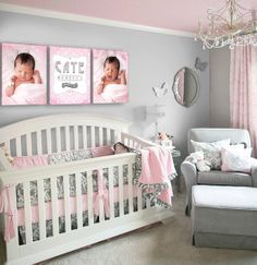 baby nursery in grey - Google Search