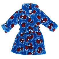 Spider-man Webslinger Blue Bathrobe for Toddler Boys