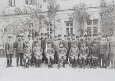 [Ottoman Empire] Ottoman Military Officers and Jerusalem Corps Headquarters, Palestine, 26 March 1916 (Kudüs) | by OTTOMAN IMPERIAL ARCHIVES