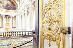 VERSAILLES, FRANCE - August 7, 2014: Interior Of Chateau De ...