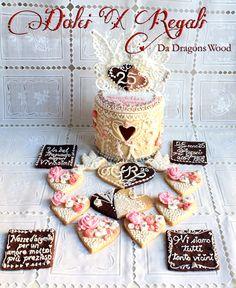 regali nozze d'argento biscotti e dolci group