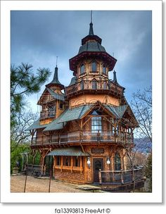 Printing Architecture Sculptural Fashion Building A House Ideas For Kids Code: 3302610704 Cabin Homes, Log Homes, Fantasy House, Fantasy Castle, House Of Beauty, French Cottage, Beautiful Buildings, Amazing Architecture, Gothic Architecture