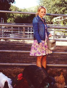Miranda and Her Beloved Animals.