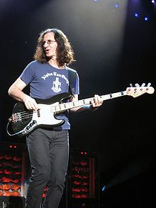 Geddy Lee of Rush.  Another modern day bass god.