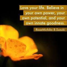 My Life Is Beautiful Quotes | Pinned by Rose Michiko Suzuki