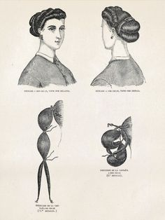 diy hair styles vintage hair styles on hair vintage 1866