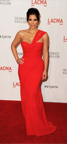 Inspired by Kim Kardashian Celebrity Dresses Red Mermaid One Shoulder Prom Dresses Evening Formal Gowns Red Carpet Dresses, Ball Dresses, Ball Gowns, Formal Gowns, Strapless Dress Formal, One Shoulder Prom Dress, Robes D'occasion, Dark Autumn, Bridesmaid Dresses