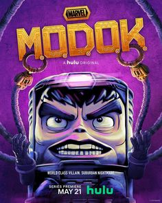 """@marvel: """"World class villain. Suburban nightmare. On May 21, witness the arrival of @MarvelsMODOK, only on…"""""""
