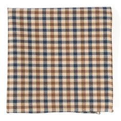 DAVENPORT PLAID POCKET SQUARES - NAVY | Ties, Bow Ties, and Pocket Squares | The Tie Bar