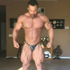 I've never seen Babak Akbarniya here. He's definitely one of my new favorite physiques. #bodybuilding #fitness #gym #fitfam #workout #muscle #health #fit #motivation #abs #fitspo
