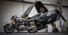 1200 Thruxton from Britbike Triumph and FB