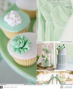 Mint Green Weddings Wedding Mint Green, Green Weddings, Gold Wedding, Wedding Bride, Dream Wedding, Wedding Bells, Wedding Things, Wedding Stuff, Mint Green Bridesmaid Dresses