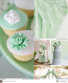 Mint Green Wedding... Wedding ideas for brides, grooms, parents & planners ... https://itunes.apple.com/us/app/the-gold-wedding-planner/id498112599?ls=1=8 … plus how to organise an entire wedding ♥ The Gold Wedding Planner iPhone App ♥