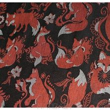 FOXES NARI with linen sp.off.
