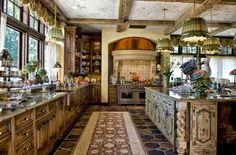 Luxury Classic Wood Kitchen Design