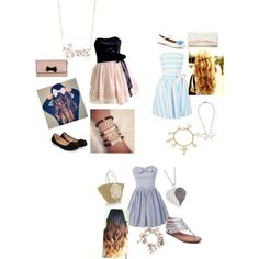 Brie, Baylee, and my outfit! by sydneynewton-1 on Polyvore