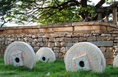 At the base of Nandi Hills  an ancient hill fortress in Karnataka  India  sits the Bhoga Nandeeshwara Temple  Gulf News reader Ramesh Menon visited the site and took these pictures