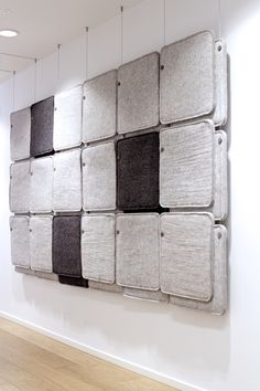 FeltTile aound absorber from Rom & Tonik. Sound Proofing, Audio, Bathtub, Projects, Furniture, Acoustic, Product Design, Standing Bath, Log Projects
