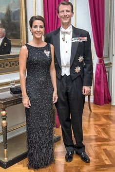 Prince Joachim and Princess Marie hosted a dinner in honor of Goodwill Ambassadors 20th anniversary