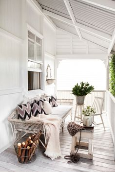 Stylist Kara Rosenlund's Queensland home. From the June 2013 issue of Inside Out…